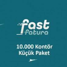 fastfatura 10.000 Kontör Küçük Paket