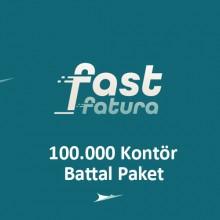fastfatura 100.000 Kontör Battal Paket
