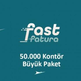 fastfatura 50.000 Kontör Büyük Paket